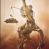 2008_Disproportionate Use Of Justice_H130cm X W85cm_78400013