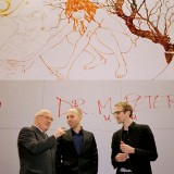 Paperworld_Frankfurt L-R: Dr. Martin Peters, Reed Kram and Clemens Weisshaar