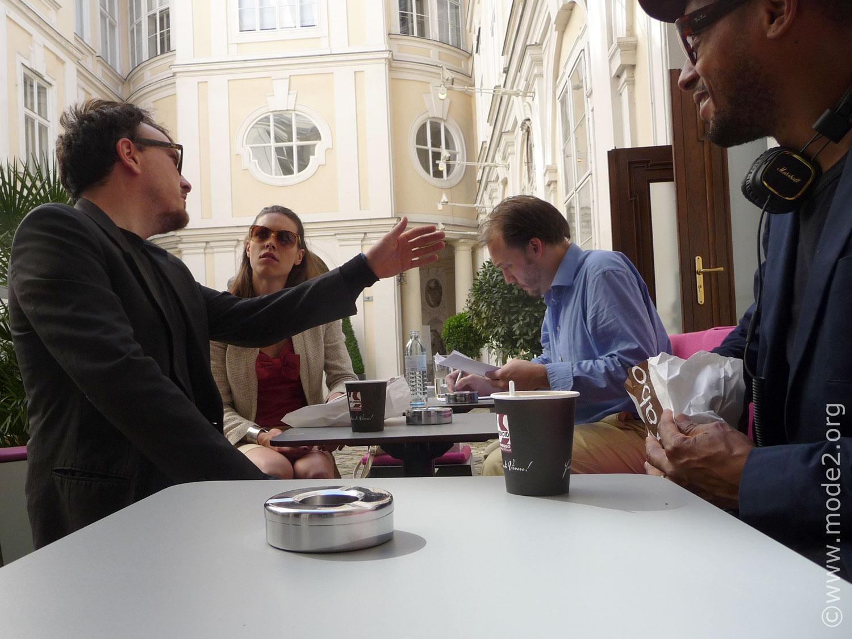 Breakfast at Palais Kinsky