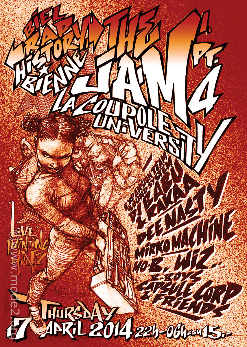 2014_04_Rap-History-The-Jam#4_Poster