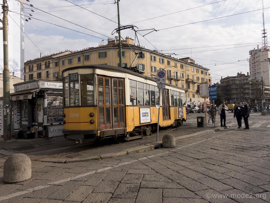 Old Tram at Porta Genova
