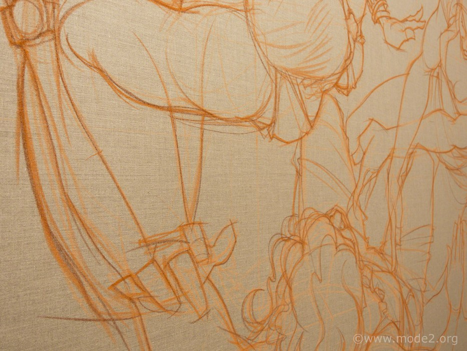 La Ronde canvas sketch