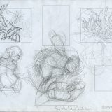 Sketches for Symbiotic Collision and Retour